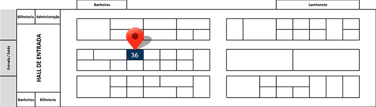 Mapa do Evento ENB 2017